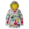 Wow Colors Childrens Hoodie | TinyHumanClothing.com