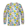 Graph Paper Notebook Childrens Long Sleeve Tee | TinyHumanClothing.com