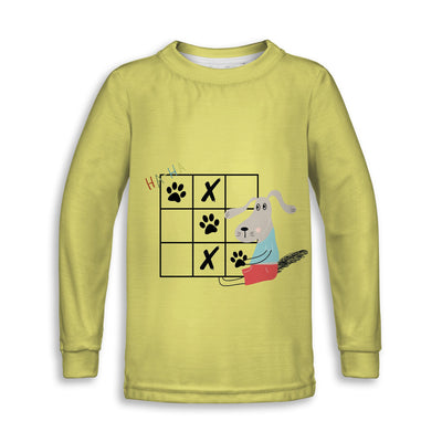Dog Life Childrens Long Sleeve Tee | TinyHumanClothing.com