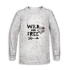 WildN'Free Childrens Long Sleeve Tee | TinyHumanClothing.com