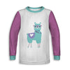 No Drama Llama Childrens Long Sleeve Tee | TinyHumanClothing.com