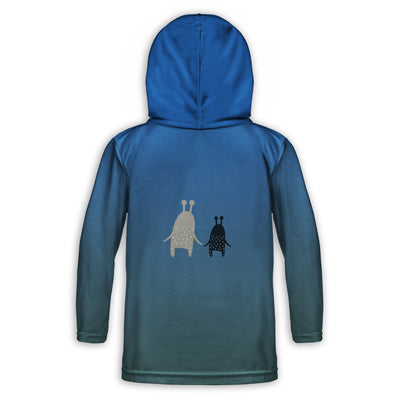 Monster Friends Childrens Lightweight Hoodie | TinyHumanClothing.com