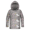 Pink Magic Unicorn Childrens Lightweight Hoodie | TinyHumanClothing.com