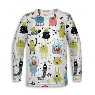 Monsters Childrens Sweatshirt | TinyHumanClothing.com