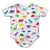 Dino Print Infant Bodysuit