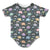 Rainy Day Elephants Infant Bodysuit