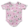 Panda Princess Infant Bodysuit | TinyHumanClothing.com