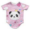 Posh Panda Infant Bodysuit | TinyHumanClothing.com
