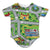 Toy Car Play Rug Infant Bodysuit