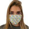 Graph Paper Notebook Face Mask | TinyHumanClothing.com