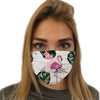 Cute Flamingos Face Mask | TinyHumanClothing.com