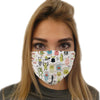 Monsters Face Mask | TinyHumanClothing.com