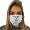 Under The Sea Face Mask | TinyHumanClothing.com