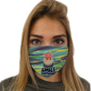 Smile Dragon Face Mask | TinyHumanClothing.com