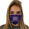 Skateboard Retro Face Mask | TinyHumanClothing.com