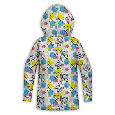 Graph Paper Notebook Toddler Hoodie | TinyHumanClothing.com