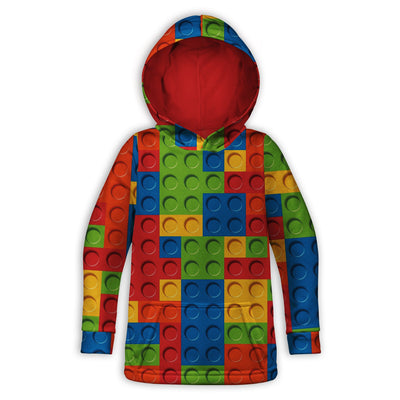 Bricked Toddler Hoodie | TinyHumanClothing.com