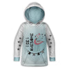 Be Awesome Toddler Hoodie | TinyHumanClothing.com