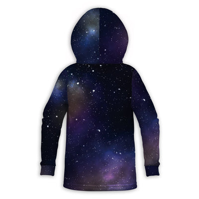 Universe and Moon Toddler Hoodie | TinyHumanClothing.com