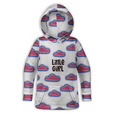 Little Girl Toddler Hoodie | TinyHumanClothing.com