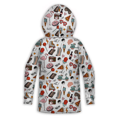 Simple Retro Toddler Hoodie | TinyHumanClothing.com