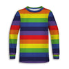 Rainbow Toddler Long Sleeve Tee | TinyHumanClothing.com
