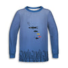 Little Ocean Toddler Long Sleeve Tee | TinyHumanClothing.com
