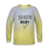 Mom's Baby Toddler Long Sleeve Tee | TinyHumanClothing.com