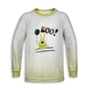 BooMonster Toddler Long Sleeve Tee | TinyHumanClothing.com