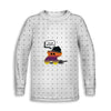 Hello Weekend Toddler Long Sleeve Tee | TinyHumanClothing.com