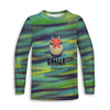 Smile Dragon Toddler Long Sleeve Tee | TinyHumanClothing.com