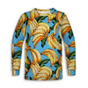 Vintage Bananas Toddler Long Sleeve Tee | TinyHumanClothing.com