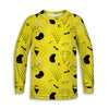 Yellow Diamond Toddler Long Sleeve Tee | TinyHumanClothing.com