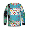 Retro Tiny Human Clothing Toddler Long Sleeve Tee | TinyHumanClothing.com