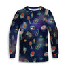 Retro Universe Toddler Long Sleeve Tee | TinyHumanClothing.com