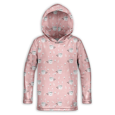 Bunny Princess Toddler Lightweight Hoodie | TinyHumanClothing.com