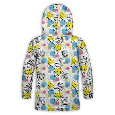 Graph Paper Notebook Toddler Lightweight Hoodie | TinyHumanClothing.com