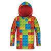 Bricked Toddler Lightweight Hoodie | TinyHumanClothing.com