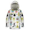 Monsters Toddler Lightweight Hoodie | TinyHumanClothing.com