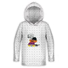Hello Weekend Toddler Lightweight Hoodie | TinyHumanClothing.com
