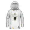 Princess Elephant Toddler Lightweight Hoodie | TinyHumanClothing.com