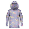Turtle Flower Toddler Lightweight Hoodie | TinyHumanClothing.com