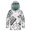 Old School Cassette Cool Toddler Lightweight Hoodie | TinyHumanClothing.com