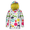 Wow Colors Toddler Lightweight Hoodie | TinyHumanClothing.com