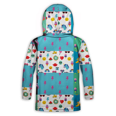 Retro Tiny Human Clothing Toddler Lightweight Hoodie | TinyHumanClothing.com