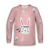 Posh Bunny Toddler Sweatshirt | TinyHumanClothing.com