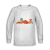 Dragon Nap Time Toddler Sweatshirt | TinyHumanClothing.com