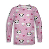Panda Princess Toddler Sweatshirt | TinyHumanClothing.com