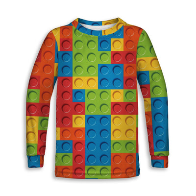 Bricked Toddler Sweatshirt | TinyHumanClothing.com
