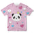 Posh Panda Toddler Tee